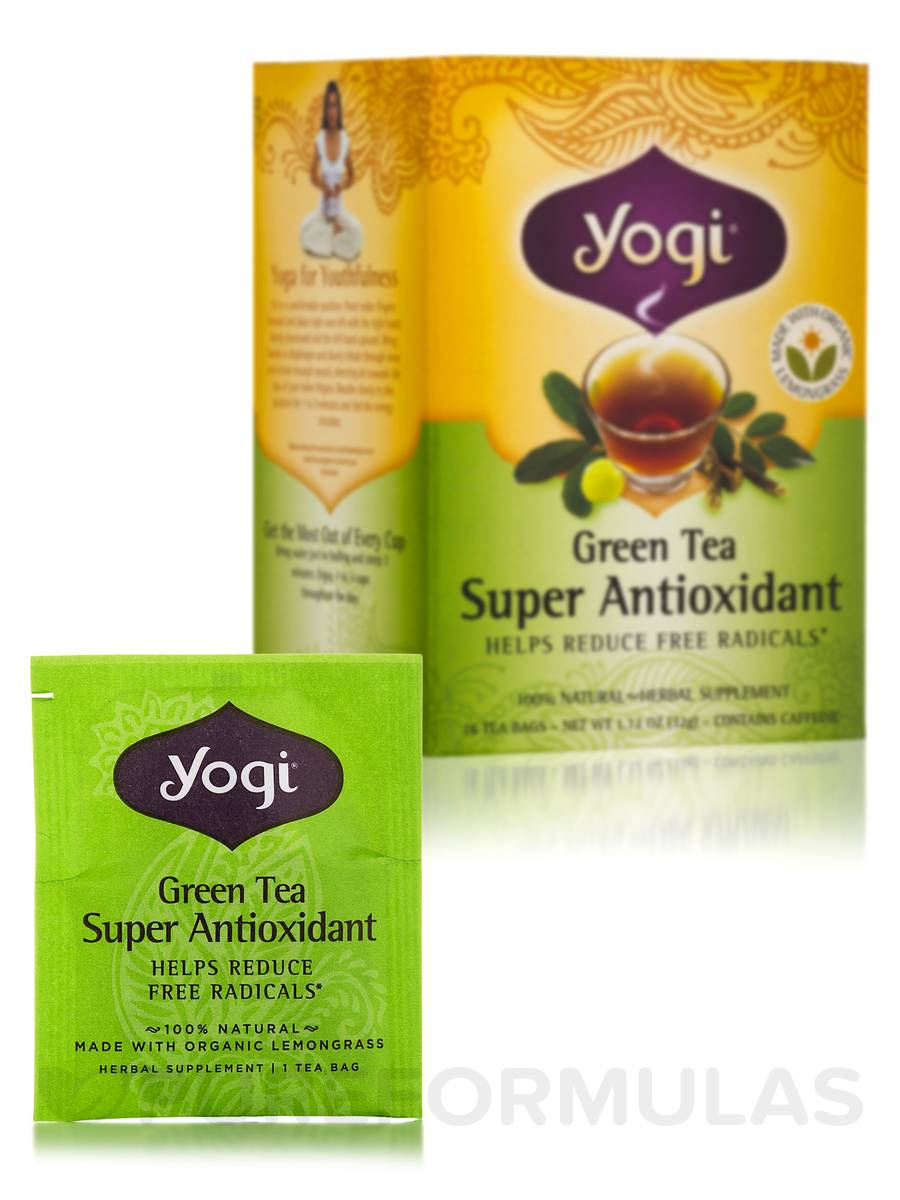 Green Tea Super Antioxidant - 16 Tea Bags