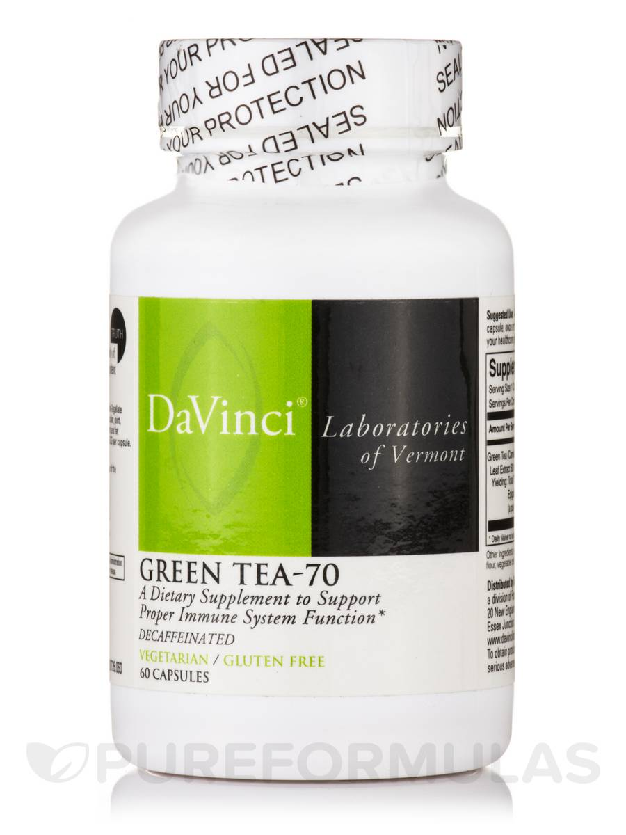 Green Tea-70 - 60 Vegetarian Capsules