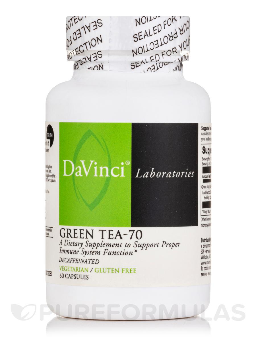 Green Tea-70 - 60 Vegetarian Capsules