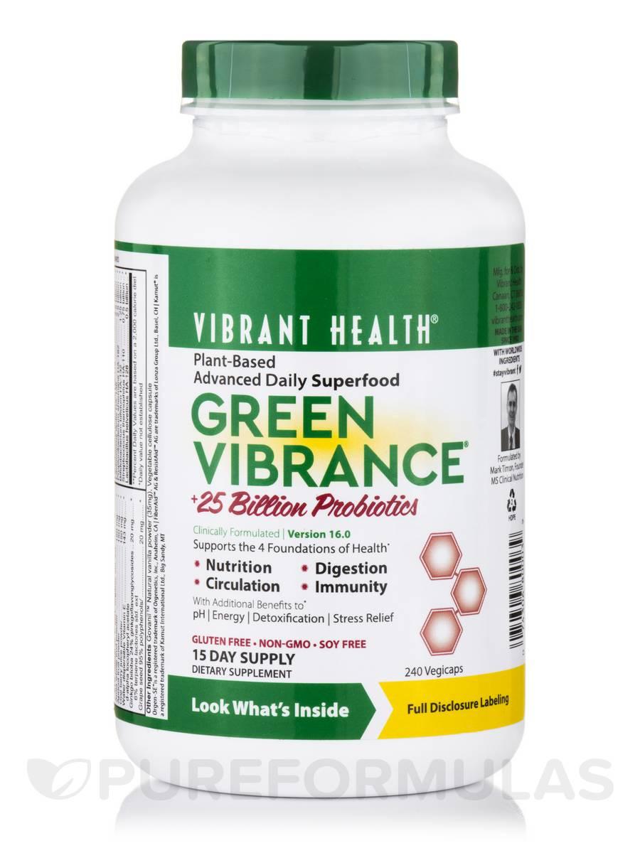 Green Vibrance - 240 Vegicaps