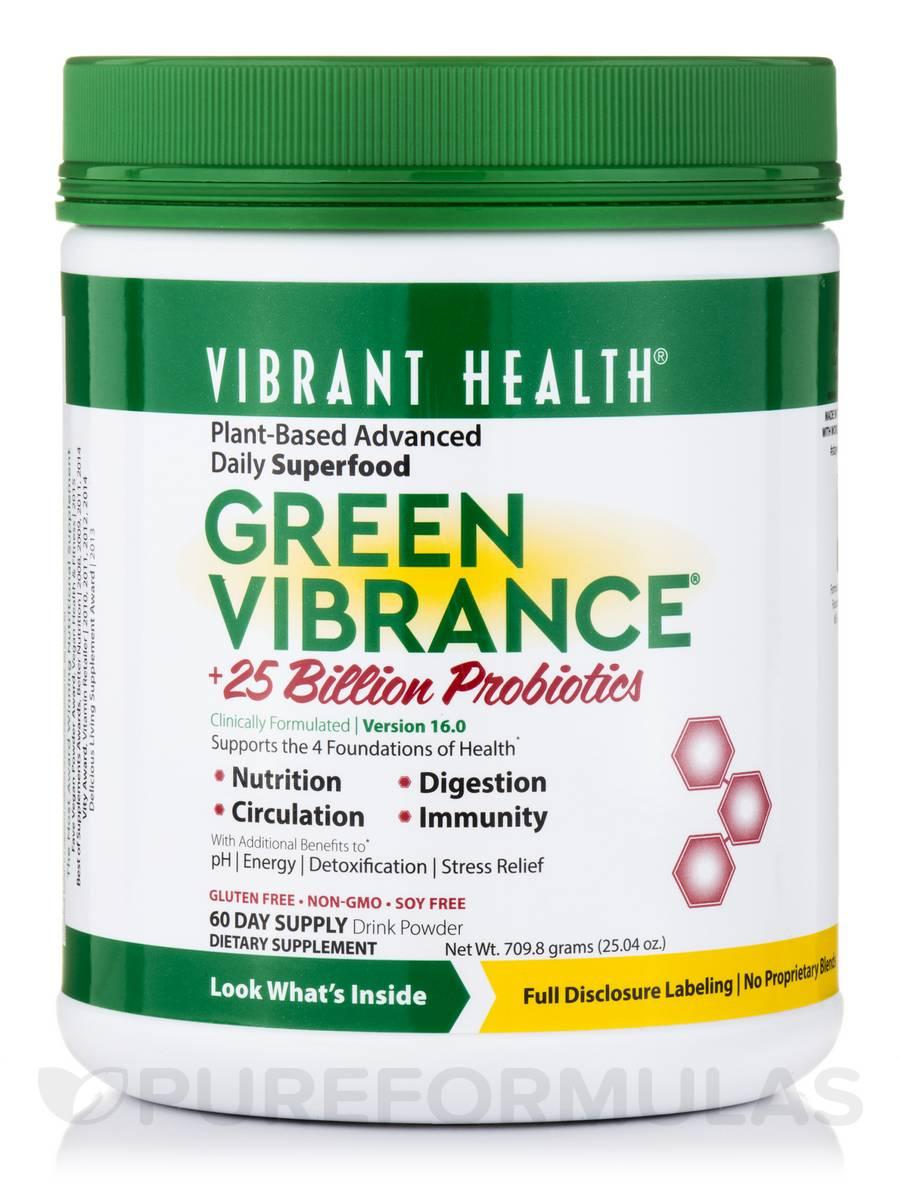 Green Vibrance Powder - 60 Day Supply (25.04 oz / 709.8 Grams)