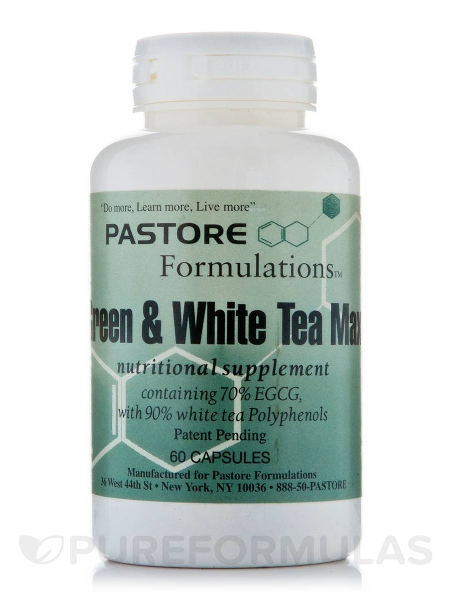 Green & White Tea Max - 60 Capsules