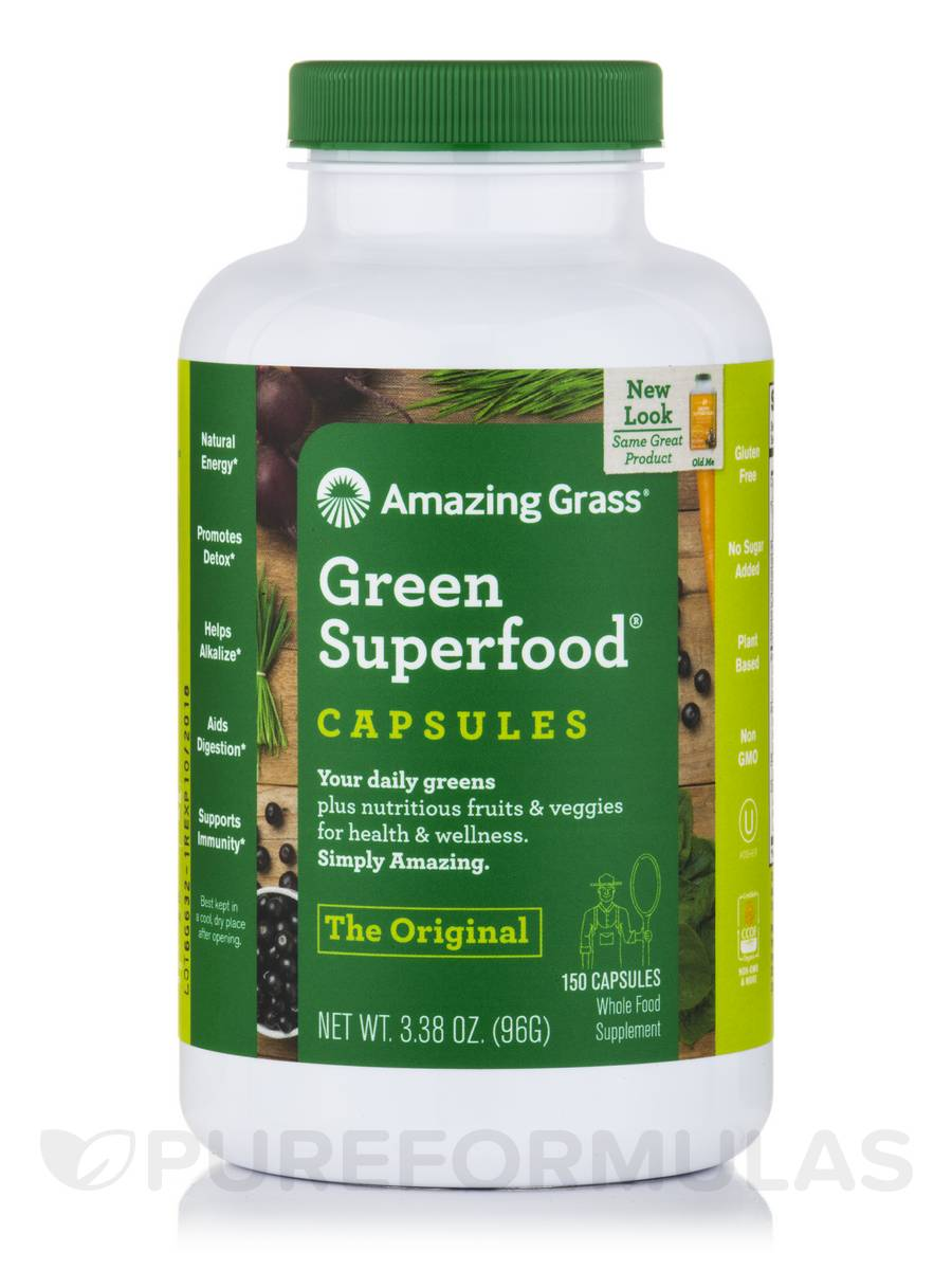 Green Superfood®, Original - 150 Capsules