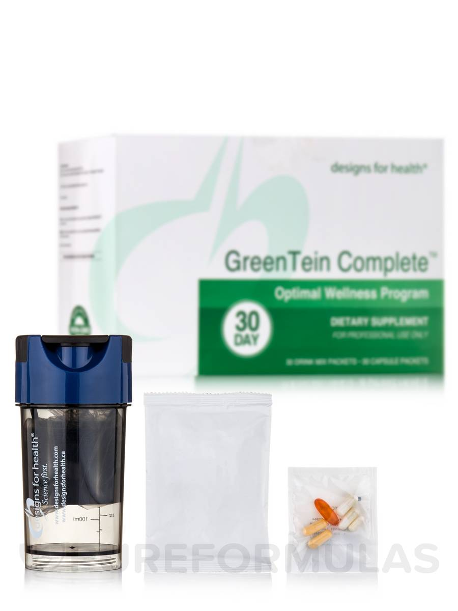 GreenTein Complete™ (Optimal Wellness Program) - 30 Drink Mix Packets + 30 Capsule Packets