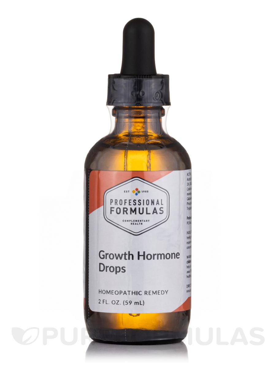 Growth Hormone Drops 2 Fl Oz 59 Ml
