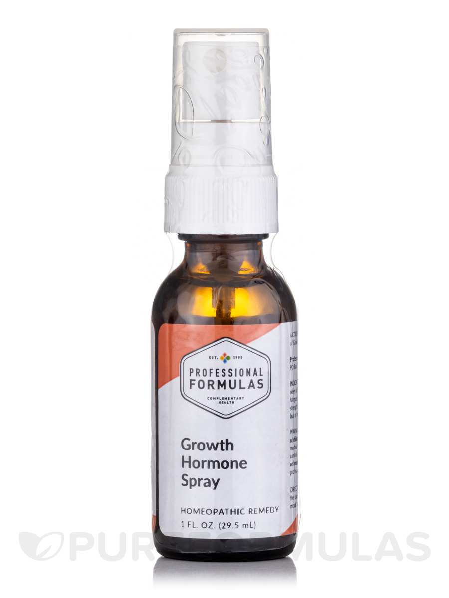 Growth Hormone Spray (High-Potency) - 1 fl. oz (29.5 ml)