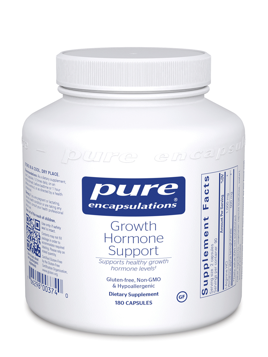 Growth Hormone Support - 180 Capsules