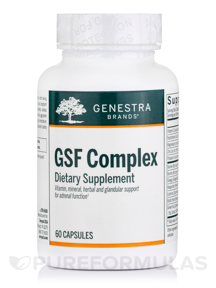 GSF Complex - 60 Vegetable Capsules