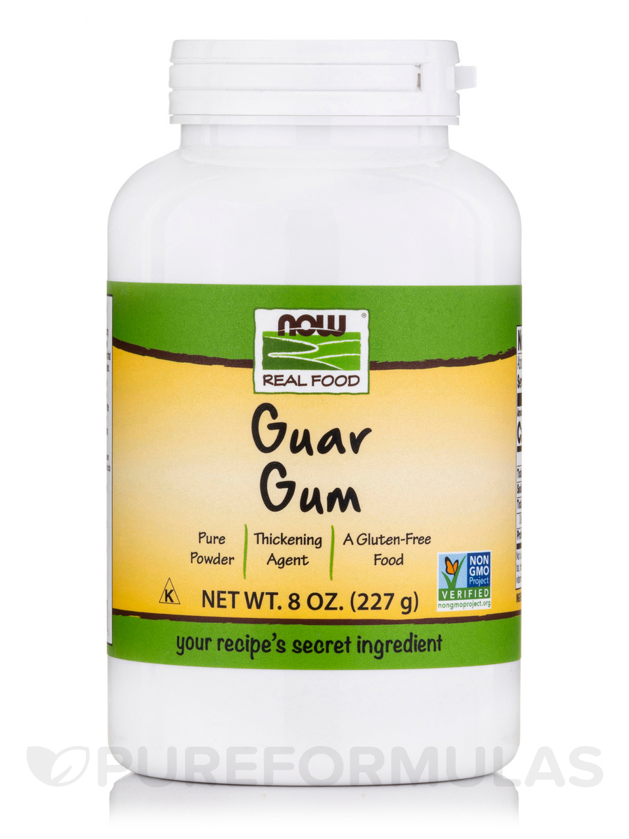 NOW® Real Food - Guar Gum Powder - 8 oz (227 Grams)