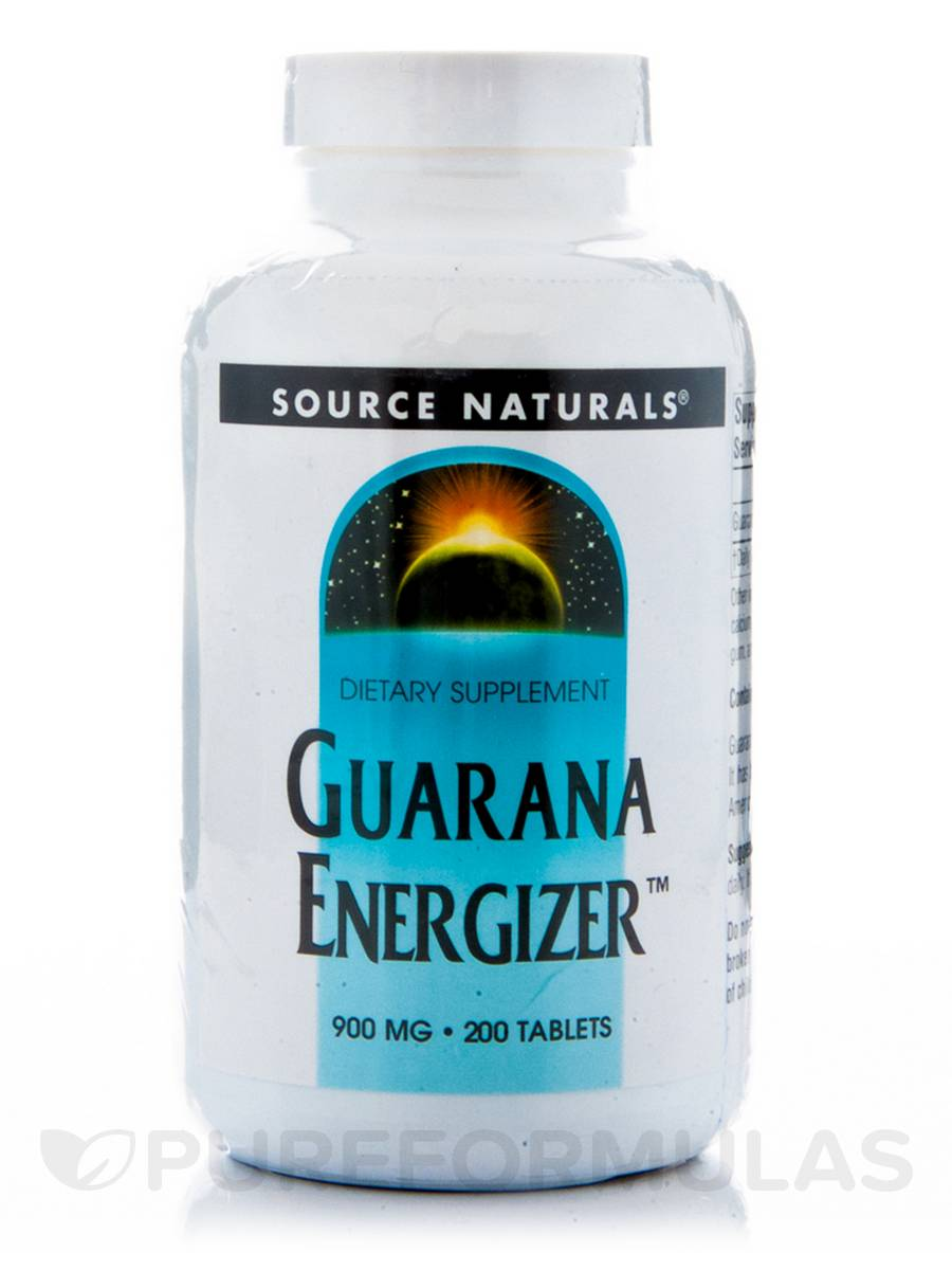 Guarana Energizer 900 mg - 200 Tablets
