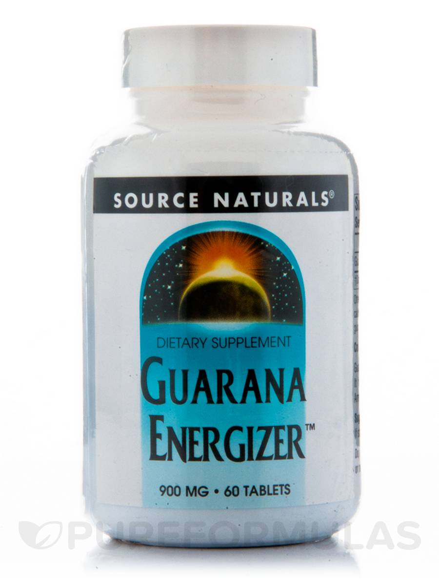 Guarana Energizer 900 mg - 60 Tablets