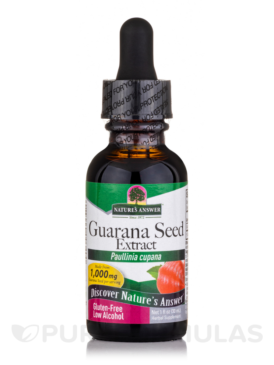 Guarana Seed Extract - 1 fl. oz (30 ml)