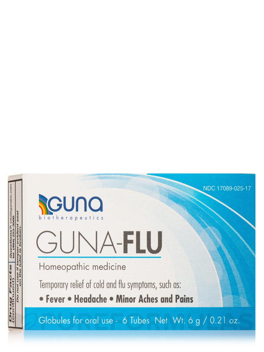 Guna-Flu - 6 Monodose Tubes-Globules