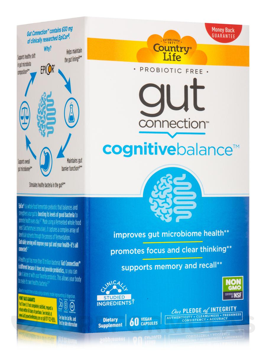Gut Connection Cognitive Balance - 60 Vegan Capsules