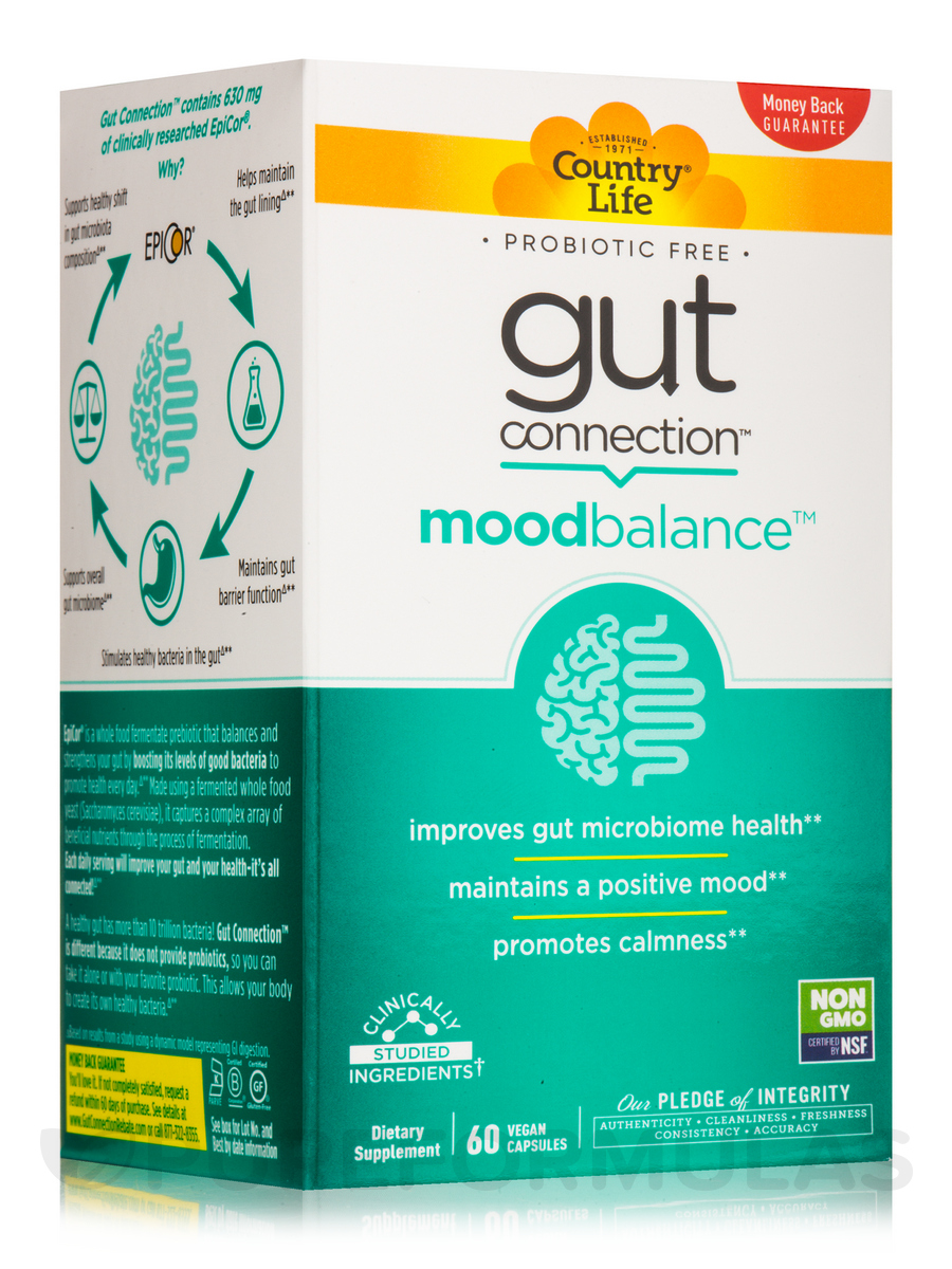 Gut Connection Mood Balance - 60 Vegan Capsules