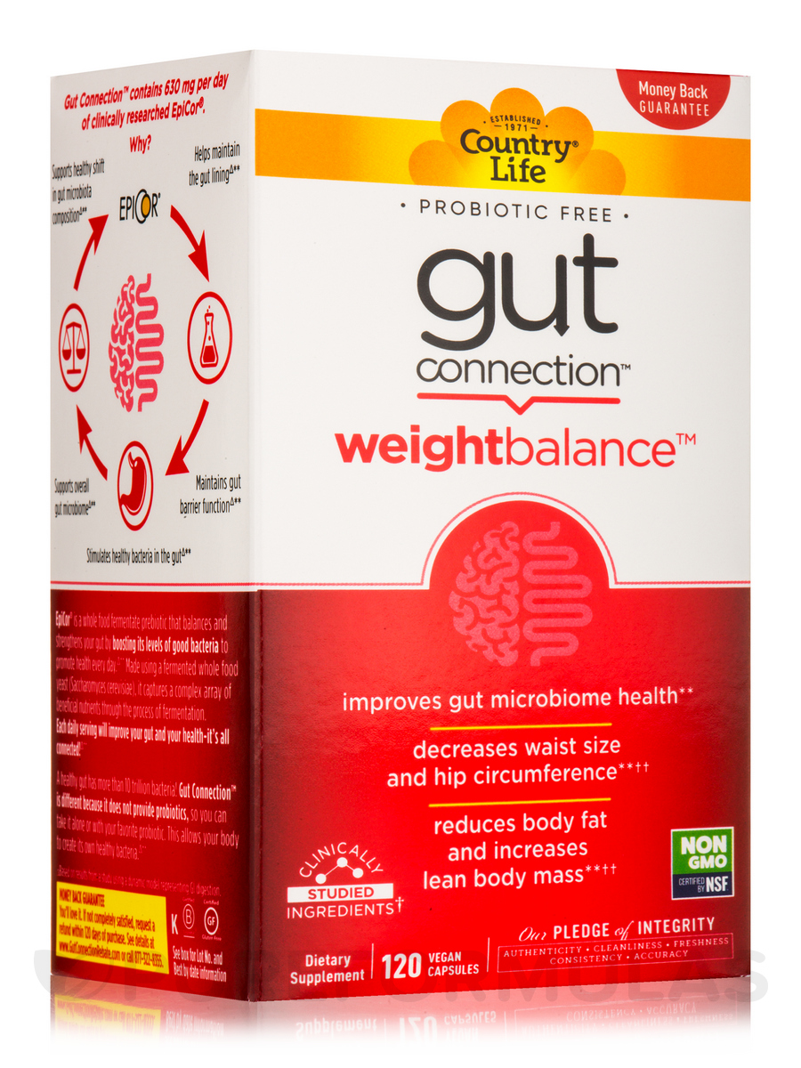Gut Connection Weight Balance - 120 Vegan Capsules