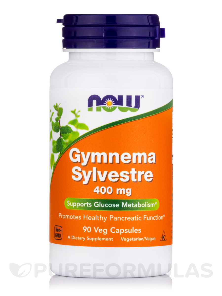 Gymnema Sylvestre 400 mg - 90 Vegetarian Capsules