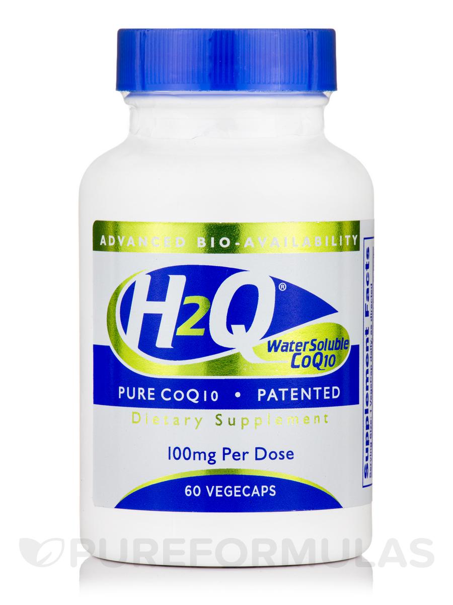 H2Q CoQ-10 100 mg - 60 VegeCaps