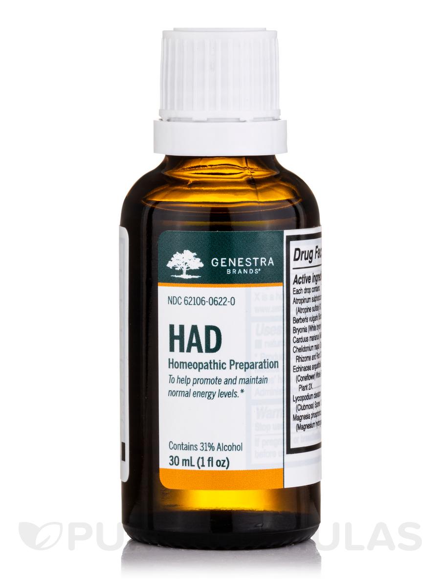 HAD Adrenal Drops - 1 fl. oz (30 ml)