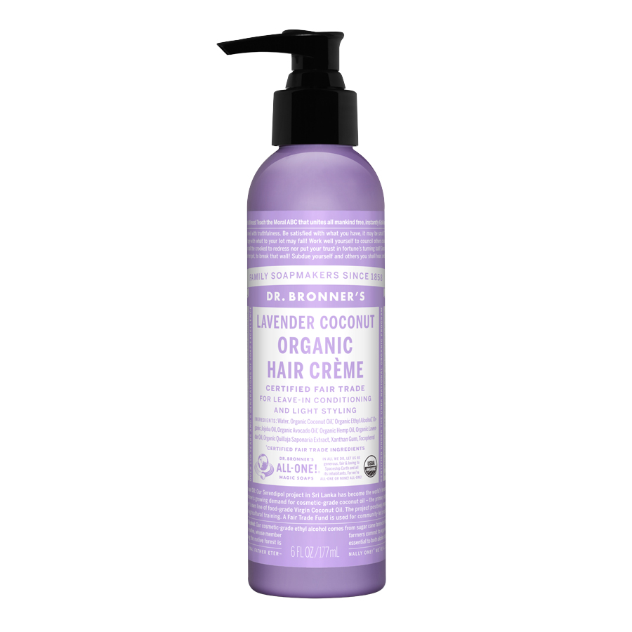 Hair Conditioning & Style Creme Lavender Coconut - 6 fl. oz (177 ml)