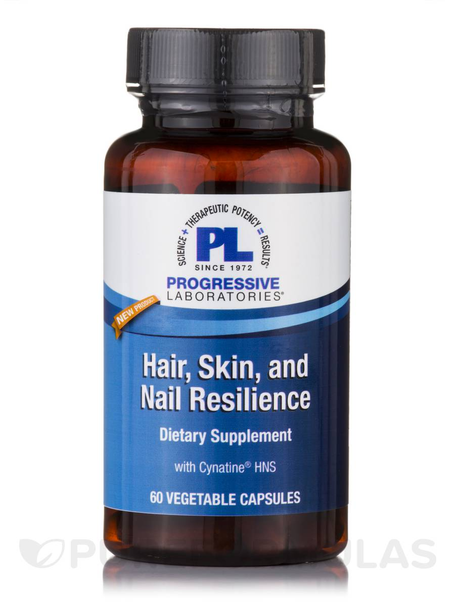 Hair, Skin and Nail Resilience™ - 60 Vegetable Capsules