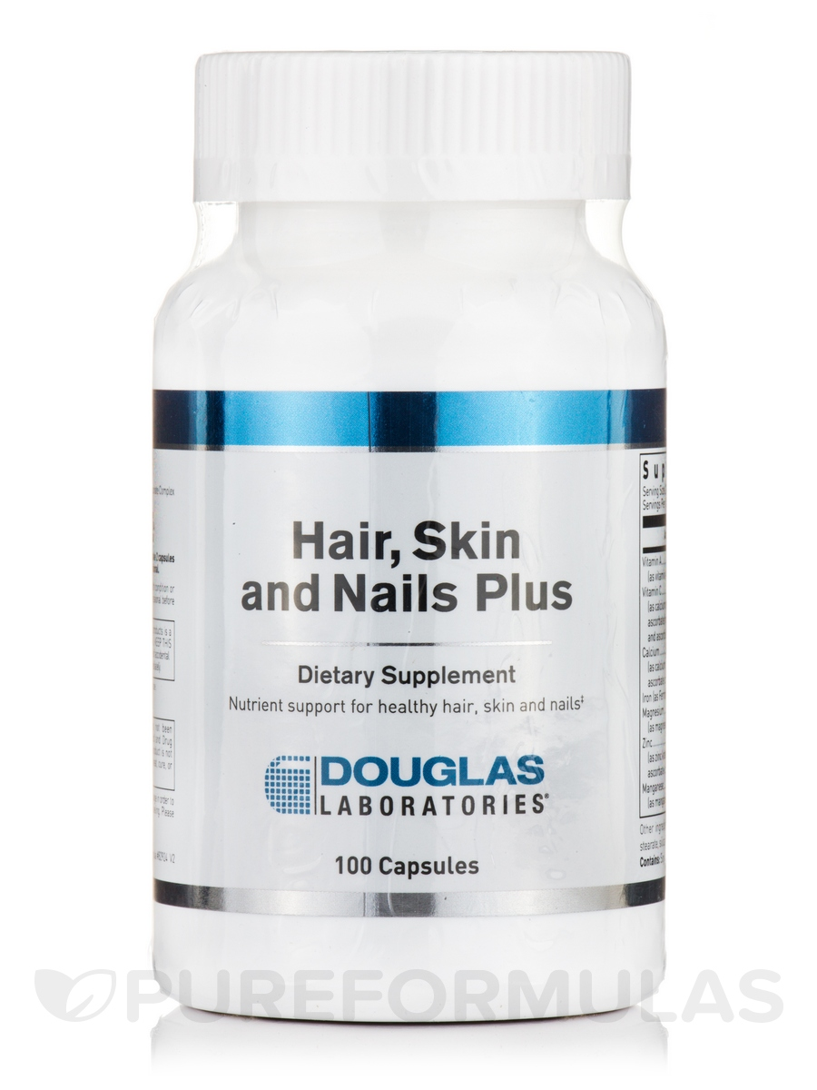Hair, Skin and Nails Plus - 100 Capsules