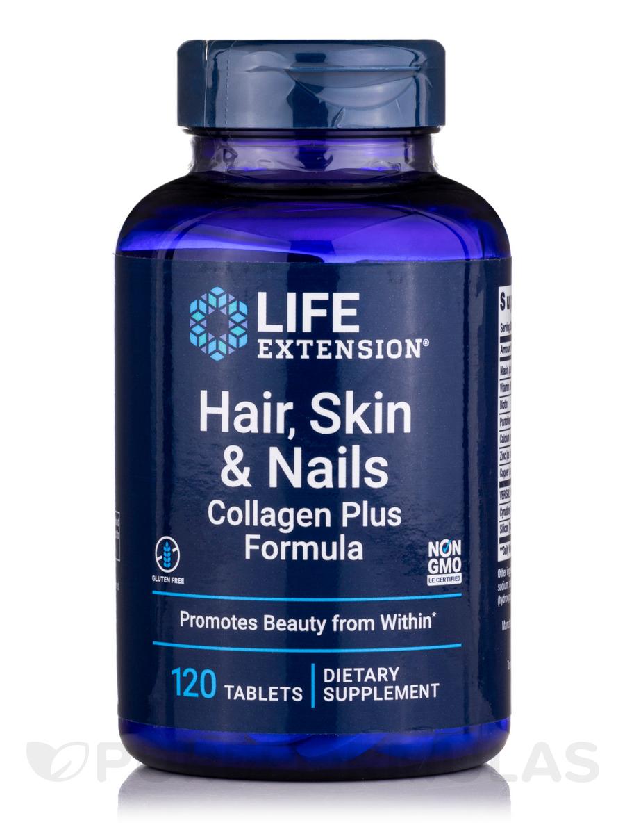 Hair, Skin & Nails-Collagen Plus Formula - 120 Tablets