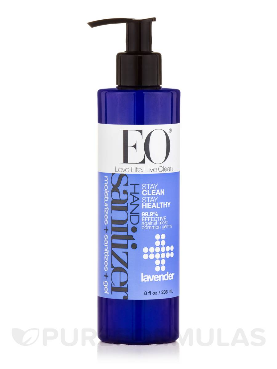 Hand Sanitizer Gel, French Lavender - 8 fl. oz (236 ml)