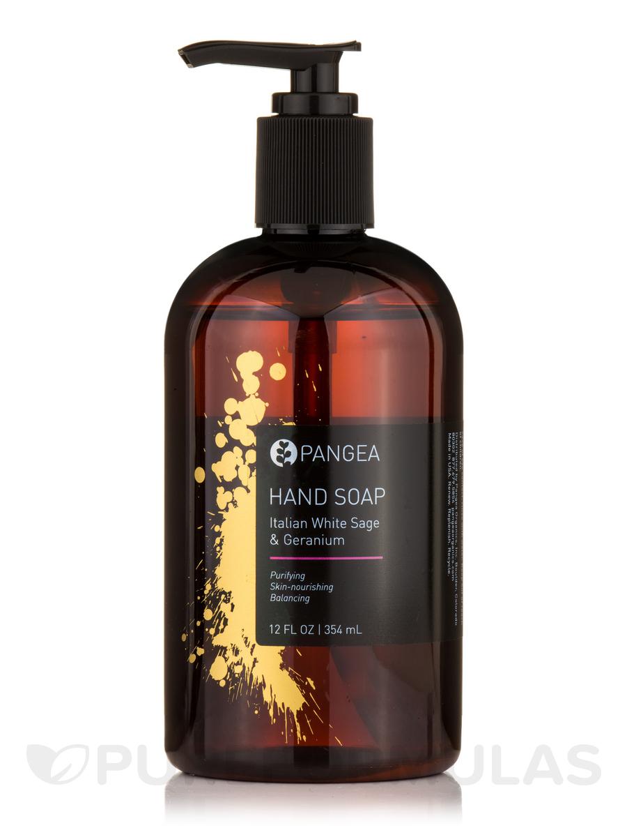 Hand Soap - Italian White Sage, Geranium & Yarrow - 12 fl. oz (354 ml)