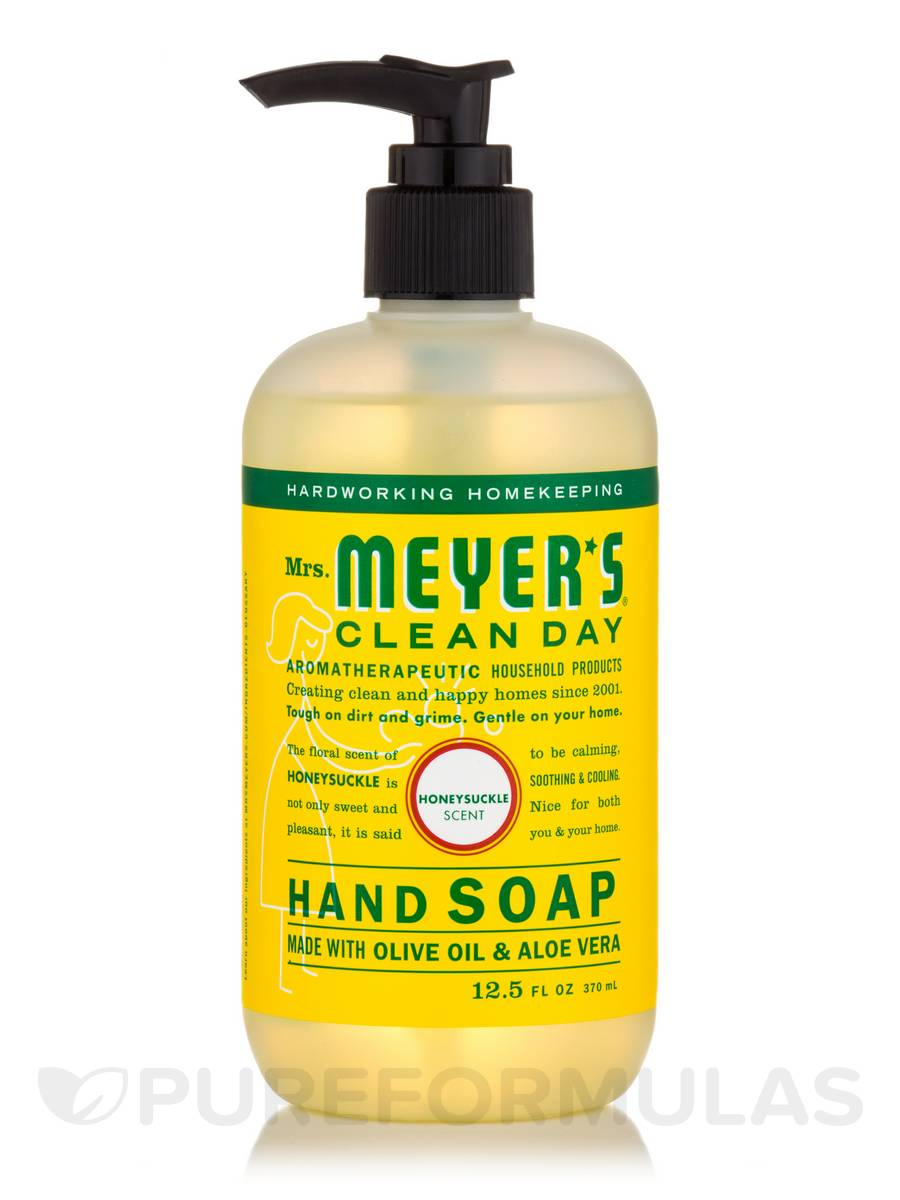 Hand Soap, Liquid, Honeysuckle Scent - 12.5 fl. oz (370 ml)