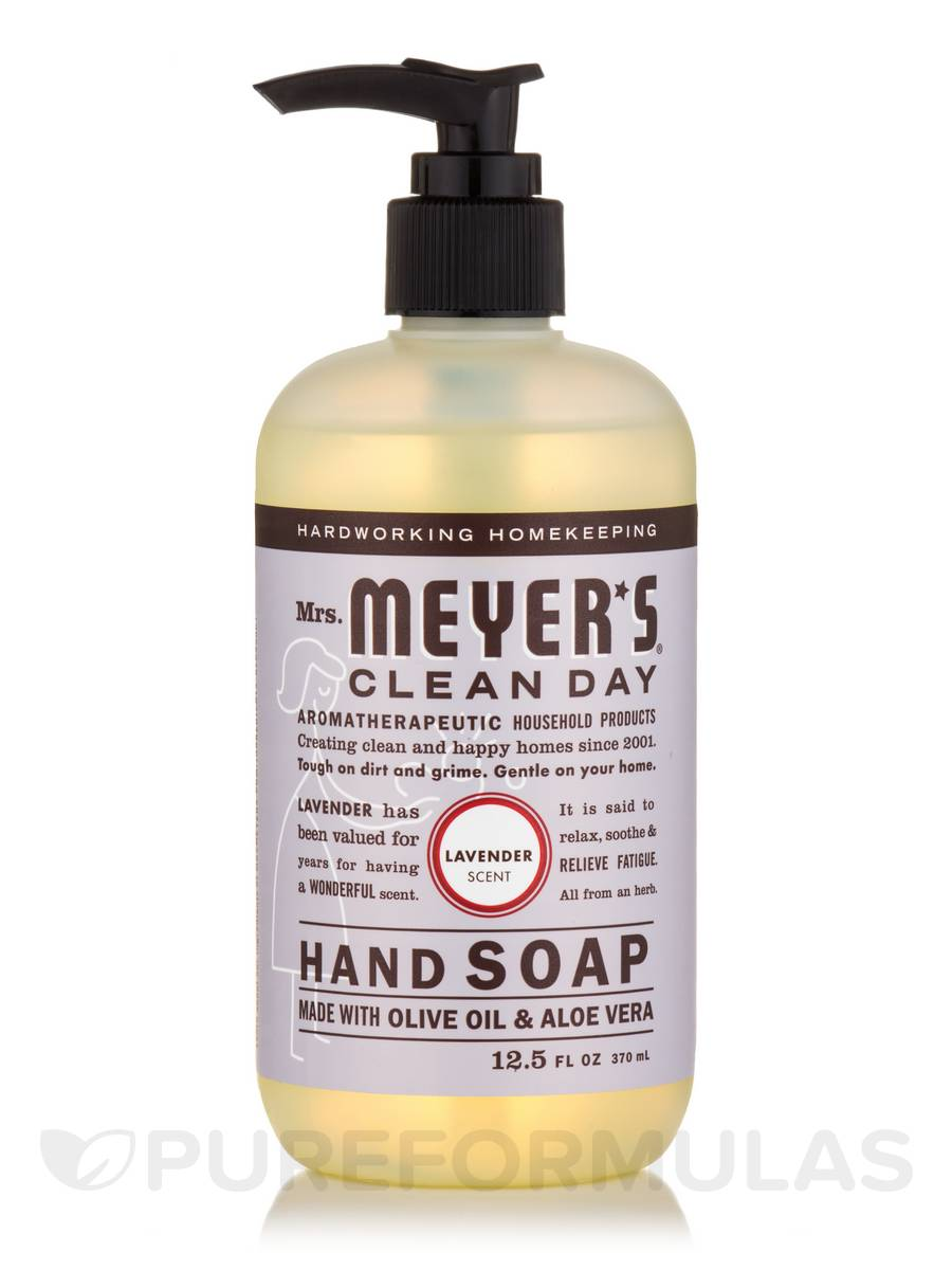 Hand Soap, Liquid, Lavender Scent - 12.5 fl. oz (370 ml)