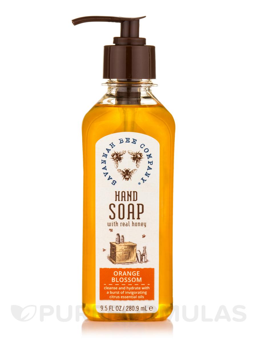 Hand Soap with Real Honey - Orange Blossom - 9.5 fl. oz (280.9 ml)