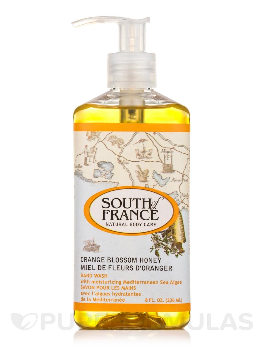 Hand Wash Liquid Orange Blossom Honey - 8 fl. oz (236 ml)
