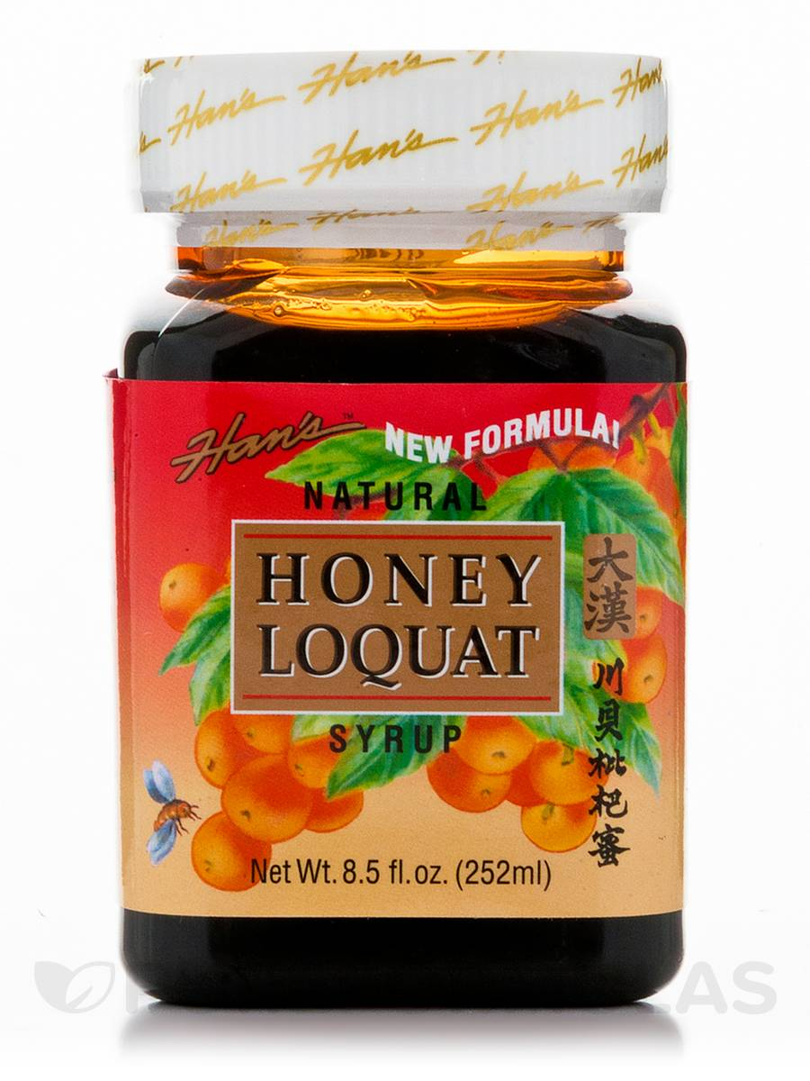 Han's™ Honey Loquat Syrup - 8.5 fl. oz (252 ml)