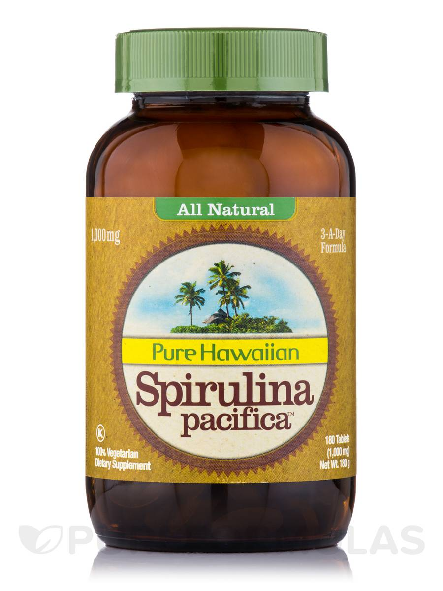 Hawaian Spirulina Pacifica - 180 Tablets