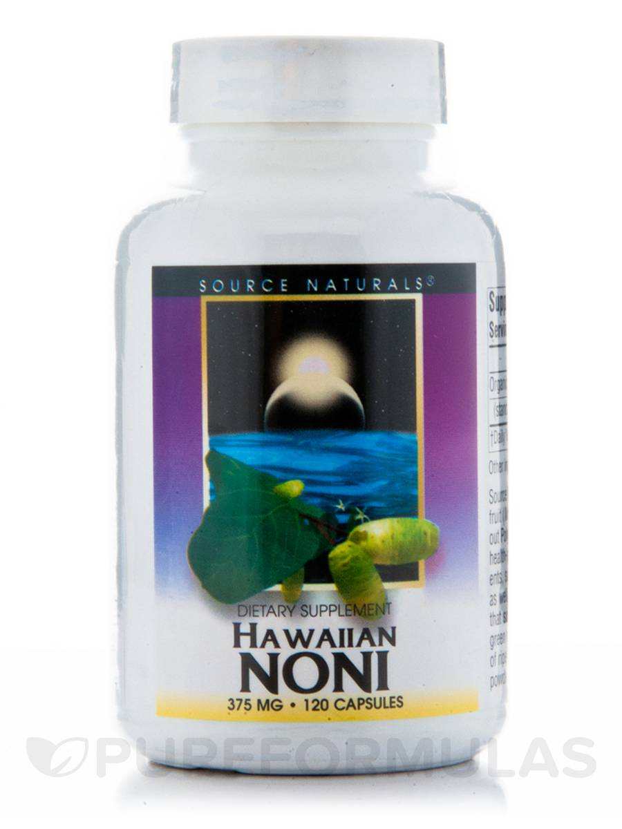 Hawaiian Noni 375 mg - 120 Capsules