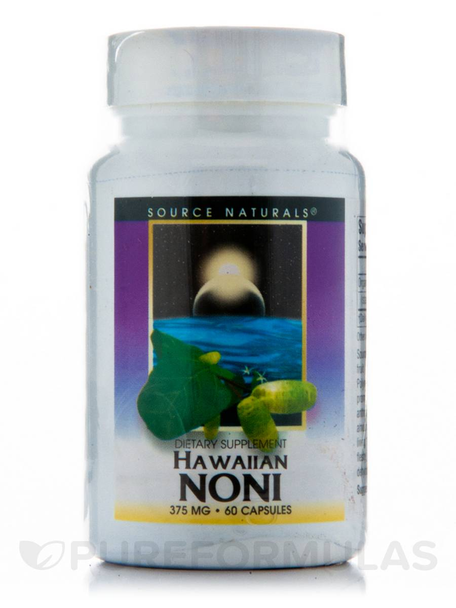 Hawaiian Noni 375 mg - 60 Capsules