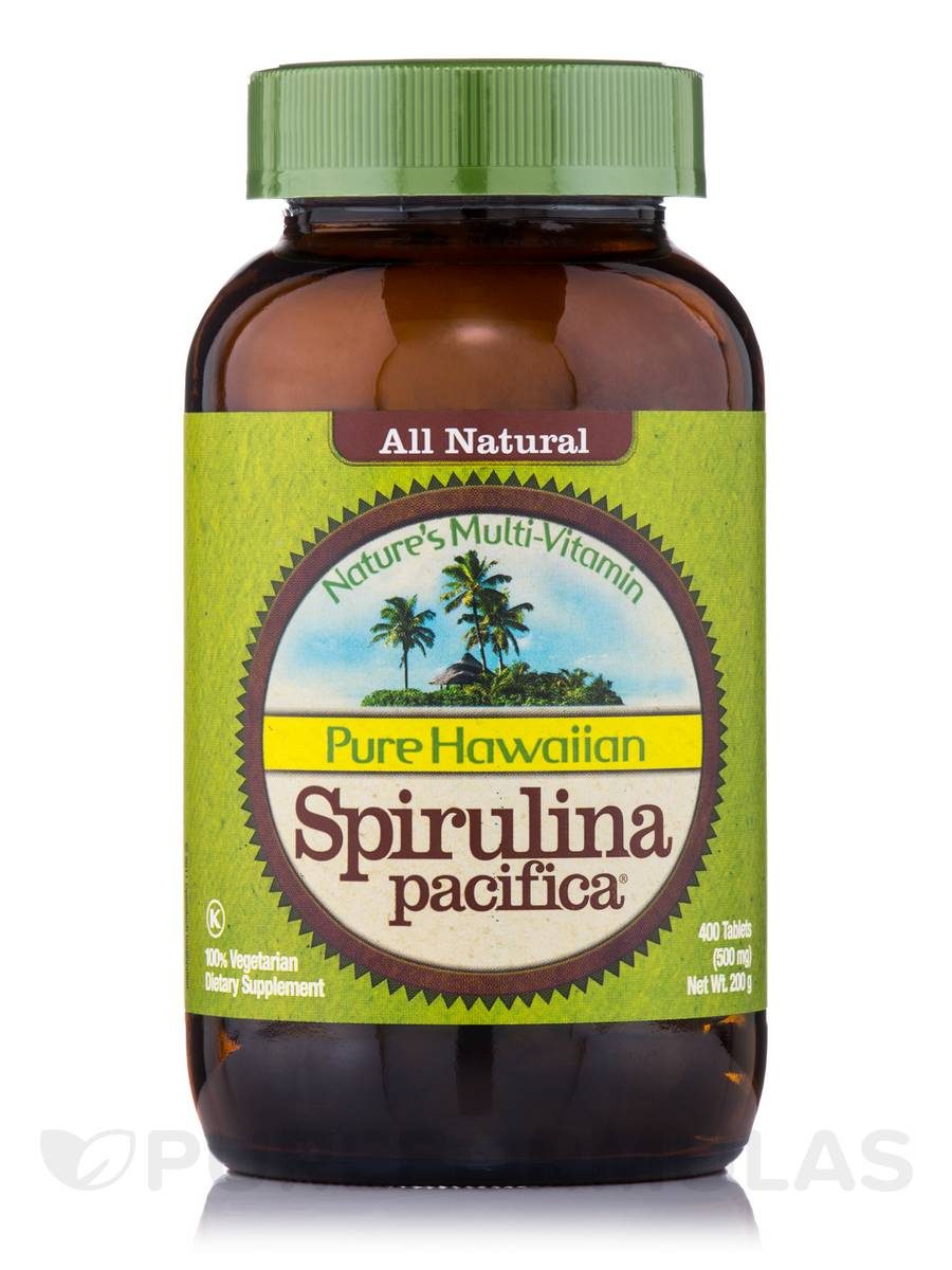 Hawaiian Spirulina 500 mg - 400 Tablets