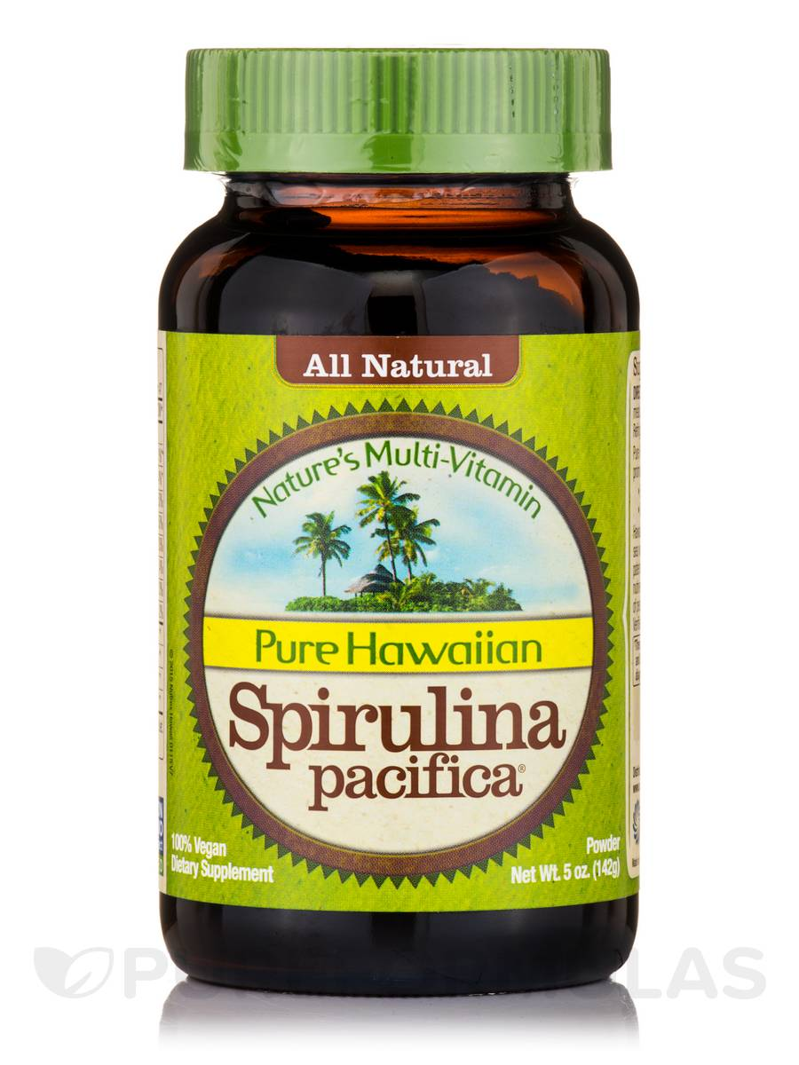 Pure Hawaiian Spirulina Pacifica® Powder - 5 oz (142 Grams)