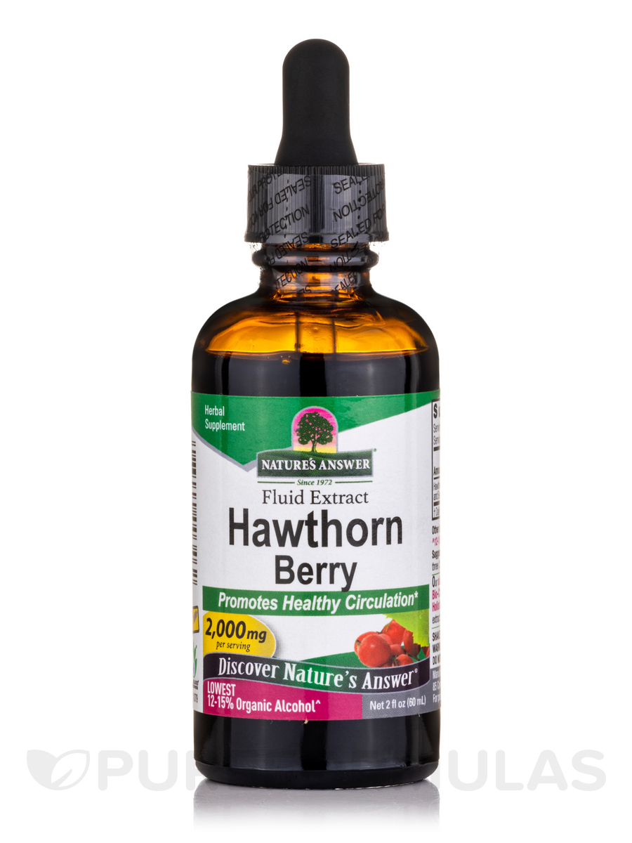 Hawthorn (Berries, Leaf & Flower) Extract - 2 fl. oz (60 ml)