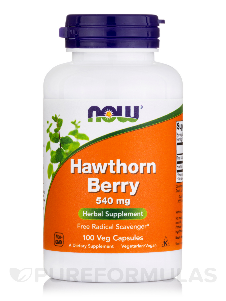 Hawthorn Berry 540 mg - 100 Capsules