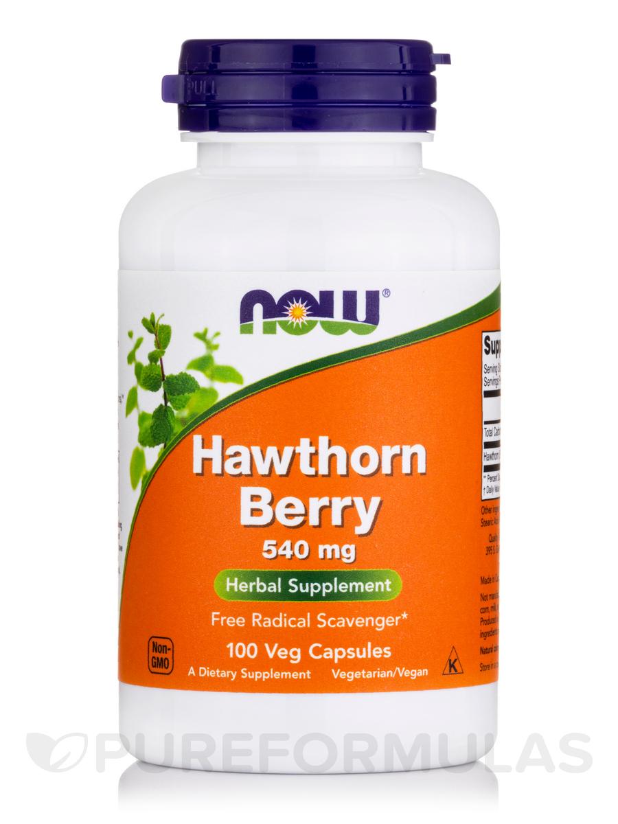 Hawthorn Berry 540 mg - 100 Capsules