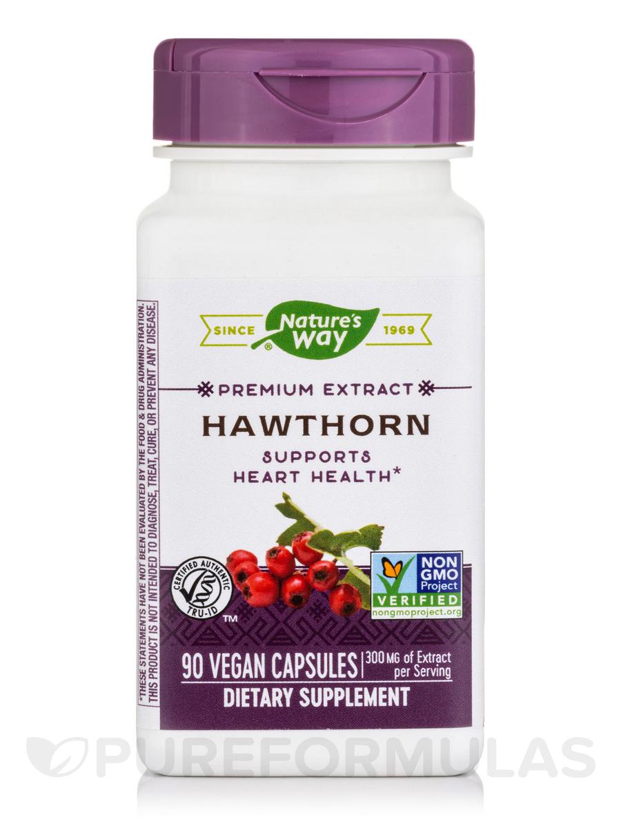 Hawthorn Standardized - 90 Capsules