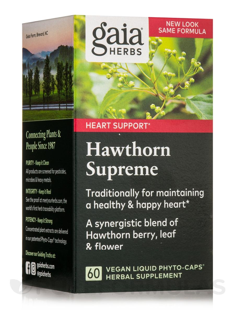 Hawthorn Supreme - 60 Vegetarian Liquid Phyto-Caps®
