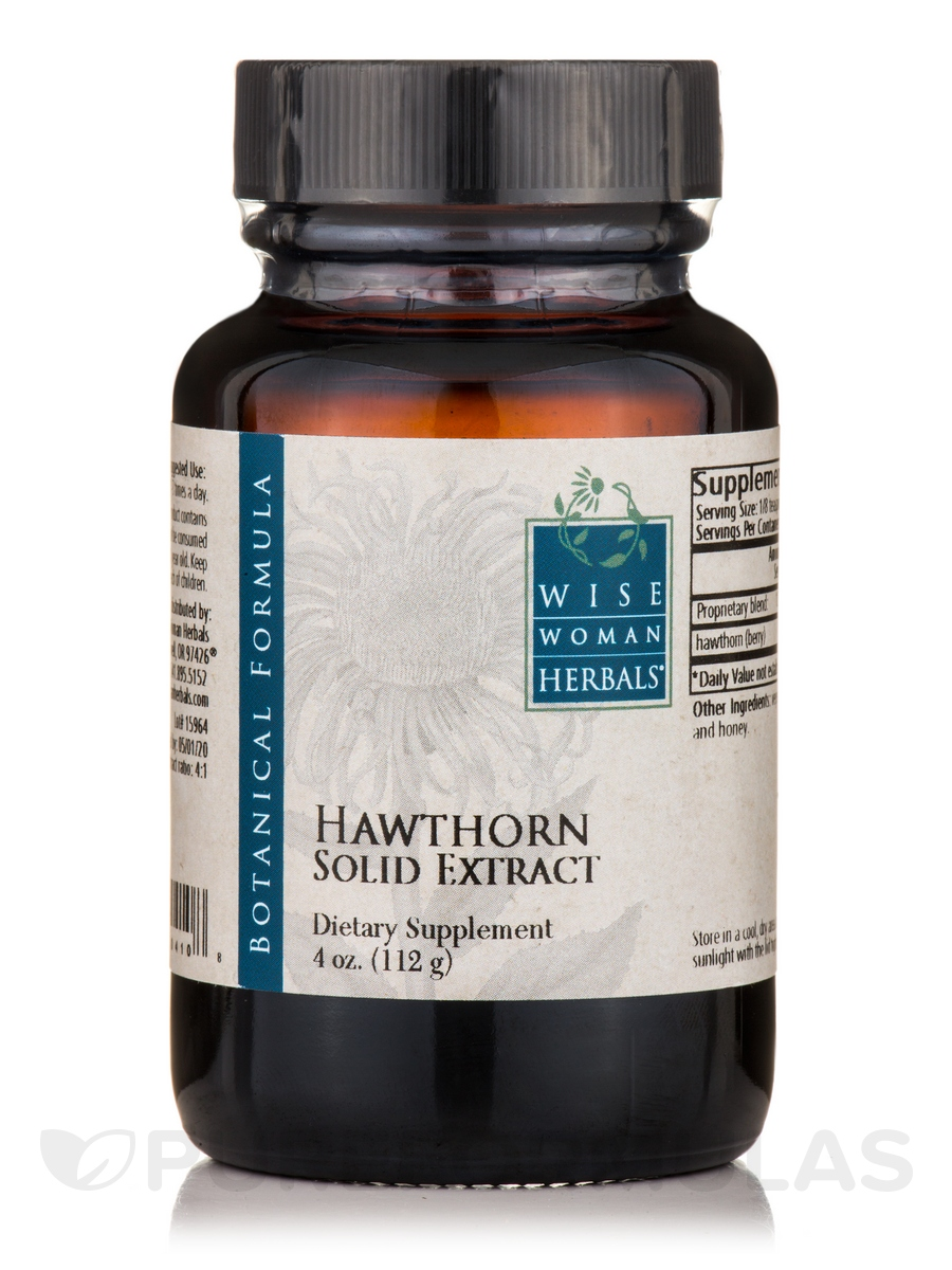 Hawthorne Solid Extract - 4 oz (112.5 Grams)