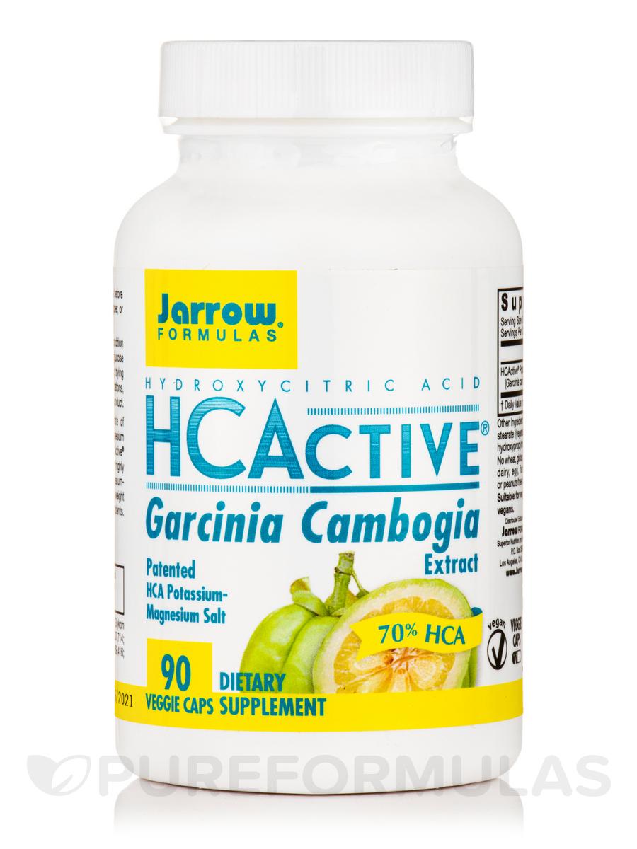 HCActive™ (Hydroxycitric Acid from Garcinia Cambogia, 70% HCA) - 90 Veggie Capsules