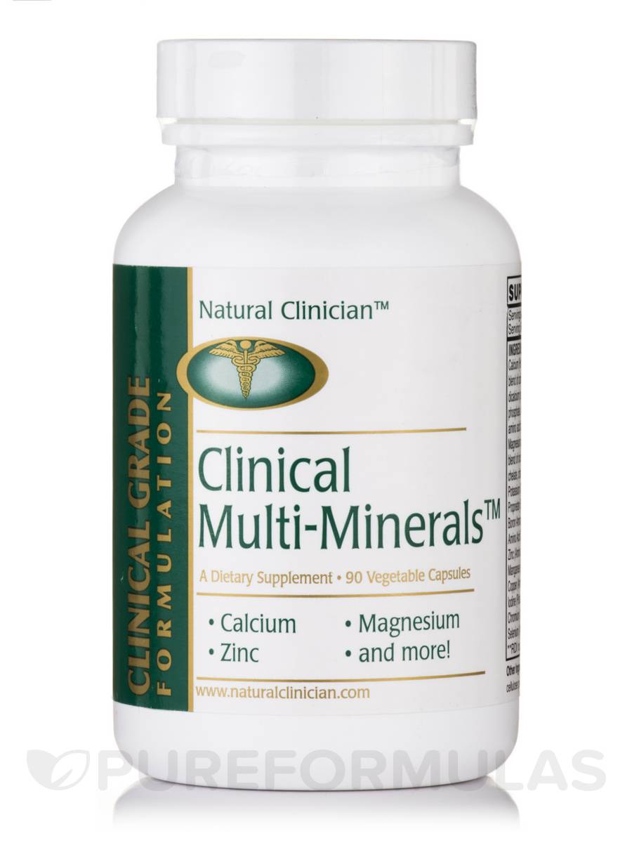 Clinical Multi-Minerals™ - 90 Vegetable Capsules