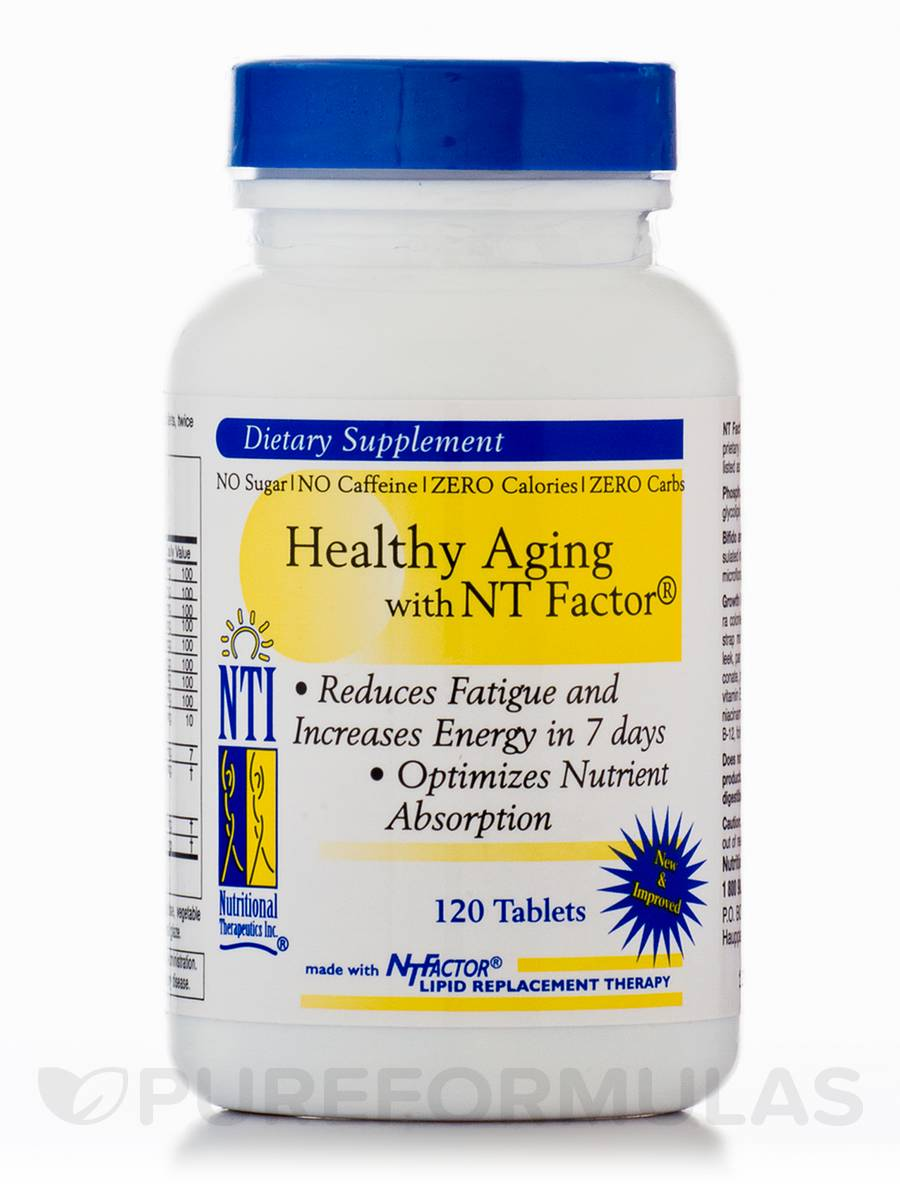 Healthy Aging with NT Factor - 120 Tablets