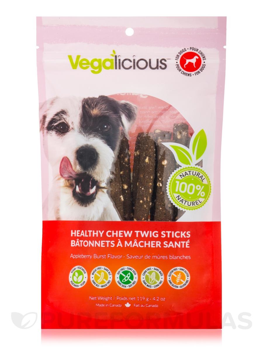 Healthy Chew Twig Sticks, Appleberry Burst Flavor - 4.2 oz (119 Grams)