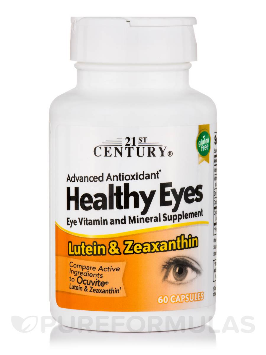 Healthy Eyes Lutein and Zeaxanthin - 60 Capsules